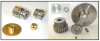 Metal Spur Gears (inch) -- S10A6Z-024H018 - Image