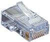 Cat5e EZ RJ45 Modular Plug Connector-Unshielded TAA 100-Pack -- C5EEZUP-100PAK