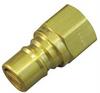 Coupler Plug,Brass,1/2 NPT -- 31C943 - Image