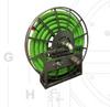 Single Wrap Hose Reel -- VAC-5000