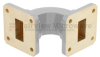 WR-75 Waveguide E-Bend Commercial Grade Using UBR120 Flange With a 10 GHz to 15 GHz Frequency Range -- SMF75EB - Image