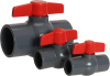 Manual Ball True Union Compact Valves -- QVC Series -- View Larger Image