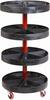 Cart, Roto-Shelving, 19-7/8 x 37-1/2 -- 02420