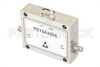 47 dB Gain, 2 Watt P1dB, 6 GHz to 12 GHz, Broadband High Gain Amplifier, 42 dBm IP3, 6 dB NF, SMA -- PE15A3506 -Image
