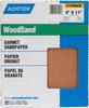 Norton WoodSand Garnet Medium Grit Paper Sheet -- 7660705506 -Image