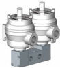 Double Pilot Solenoid Operated Spool Valves