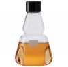 Clear Glass Trypsinizing Flasks w/ Rubber Lined Screw Caps -- 355395