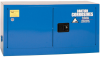 Eagle 15 gal Blue Hazardous Material Storage Cabinet - 43 in Width - 22 1/4 in Height - Bench Top - 048441-33223 -- 048441-33223 - Image