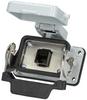 Panel interface connector Mencom RJ45-06LS