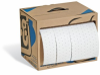 PIG Rip-&-Fit Oil-Only Absorbent Mat Roll in Dispenser Box -- MAT442