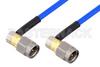 SMA Male Right Angle to SMA Male Right Angle Cable 24 Inch Length Using PE-086FLEX Coax , LF Solder -- PE3CA1041-24 -Image