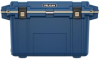 Pelican 70 Qt Elite Cooler - Blue with Coyote Trim   SPECIAL PRICE IN CART -- PEL-70Q-7-PACBLUCOY -Image