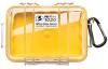 Pelican 1020 Micro Case - Clear with Yellow Liner -- PEL-1020-027-100 -- View Larger Image