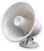 PA Horn,Weatherproof,White,10 W -- 3CWU8