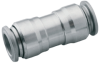 Straight connector, tube to tube -- S00200600
