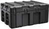 Pelican AL3424-1205 Single Lid Trunk Shipping Case with Foam - Black -- PEL-AL3424-1205RPF032 -Image