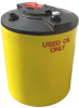 100 Gallon Double Wall Waste Oil Tank w/ Oil Level Gauge -- TC3541DC