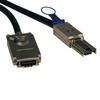 External SAS Cable, 4 Lane - mini-SAS (SFF-8088) to 4xInfiniband (SFF-8470), 2M (6-ft.), TAA -- S520-02M - Image