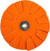 Norton Blaze CA Coarse Grit Overlap Slotted Disc -- 66261195058 - Image