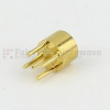 SMP Male Smooth Bore PCB Connector Thru Hole Solder Attachment -- SC5359 -Image