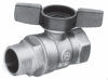 T-Handle Ball Valves -- BBV-MFT Series -- View Larger Image