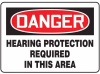 Danger: Hearing Protection Required In T -- GO-51014-15