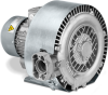One-Stage, Side Channel Regenerative Blower -- Samos SB 0080, 0140, 0200 D2 -- View Larger Image