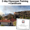 Assessing Structure Ignition Potential From Wildfire 2-Day Classroom Training with Certificate of Educational Achievement - Image
