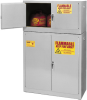 15-Gallon Flammable Liquid Safety Add-On Storage Cabinet -- CAB134-GRAY