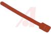 Tie; Polyethylene (Hook), Nylon (Loop);Red; 50 lbs.; 1.75 in.; 8 in.; 1 in. -- 70163623