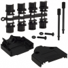 D-Sub, D-Shaped Connectors - Backshells, Hoods -- 970-15BPE-ND