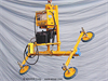 Battery PoweredVacuum Generatorwith Four Pad Attachment with Powered Tilt -- BAT100M4-61-2/44 - Image