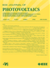 Photovoltaics, IEEE Journal of -- 2156-3381