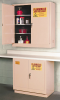 Flammable Liquid Safety Storage Self- Close Cabinet -- CAB127-BEIGE