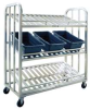 Picking Cart 3-Tier Slanted Shelf -- 97476