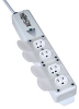 For Patient-Care Areas - Medical-Grade Power Strip with 4 Outlets and Safety Covers -- PS-415-HGULTRA