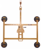 Vacuum Lifter Rotate and Tilt Hand Cup Frame -- Model HFH6000
