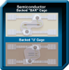 Backed Bar Semiconductor Strain Gauge -- SS-060-033-1000PB - Image