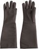 PIP Temp-Gard 202-1019 Black Small Silicone Heat-Resistant Glove - 17.25 in Length - 616314-86380 -- 616314-86380