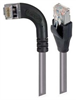 Category 5E Shielded Right Angle Patch Cable, Right Angle Left/Straight, Gray 25.0 ft -- TRD815SRA6GRY-25 -Image