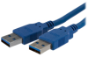 StarTech.com SuperSpeed USB 3.0 Cable -- USB3SAA6