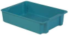 Stack and Nest Container,34x24x8,Blue -- 21P643