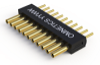 Micro SSB Series Strip Connectors - Single Row Straight Tail - Type DD