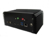 CMB-37C-G - Small Form Factor Fanless Embedded system with Intel QM87 Express Chipset supporting 4th Generation Intel Core i3/i5/i7 Mobile BGA Processors -- 1708180
