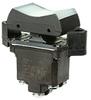 TP Series Rocker Switch, 2 pole, 3 position, Screw terminal, Flush Panel Mounting -- 2TP69-7 -Image