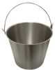 Stainless Steel Pails -- 84287