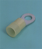 DIN Type Solderless Terminals -- DIN terminals/splices Ring tongue terminal, Insulated DIN46237 - Image