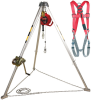 Protecta PRO Silver, Zinc Yellow, Red Confined Space System - 50 ft Length - 648250-01040 -- 648250-01040