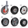 MAGLINER Hand Truck Replacement Wheels -- A5715