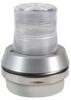 Horn Strobe,Clear,Cast Aluminum,120VAC -- 16G541